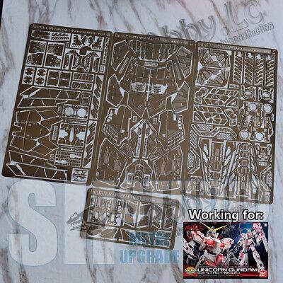 FREE SHIP for 1//48 MEGA SIZE RX-0 Unicorn Gundam Photo Etch Metal Detail ZVOU136