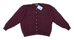 Equorian-Womens-Size-22-24-Wool-Purple-Cardigan-Regular