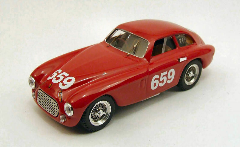Ferrari 166 MM  659 MM 1950 1 43 Model 0219 ART-MODEL