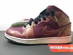 newest a9e17 50f5a Image is loading Nike-Air-Jordan-1-Mid-BHM-647562-605-