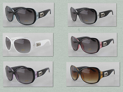 DG Womens Ladies Sunglasses Shades Crystal Clear Square Wholesale 12 Pairs 384