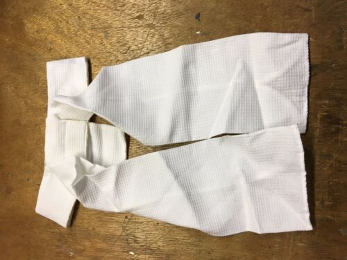 Rhinegold Equestrian Showing Tied Stocks White Size Small