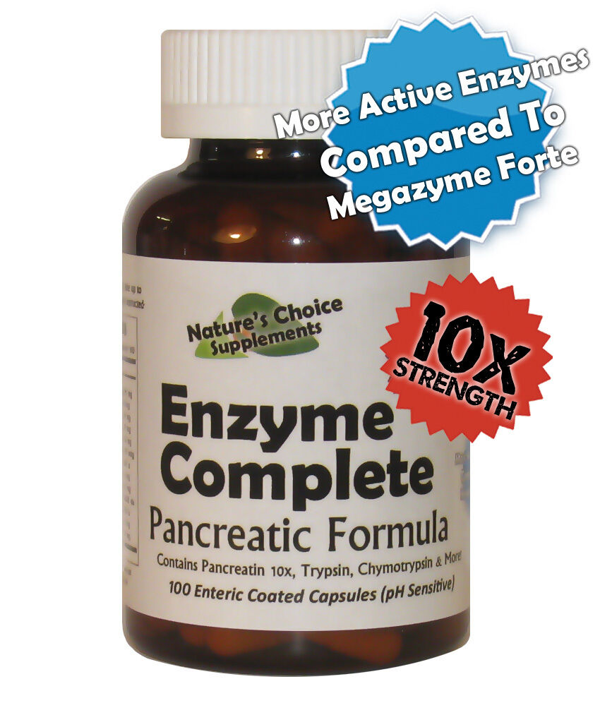 Pancreatic Enzymes 10 X Strength