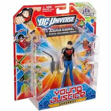 DC Universe Young Justice Superboy Figure Hall of Justice piece  *NEW*