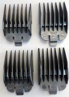 Wahl Clipper Attachment Combs - Size 5-8 Black Plastic Guards