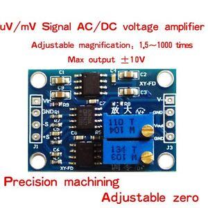 AD620 Microvolt MV Voltage Amplifier Signal Instrumentation Module Board SS