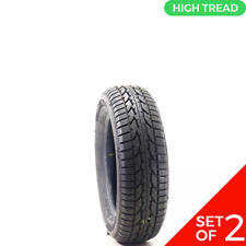 Set Of 2 Driven Once 20560r16 Firestone Winterforce 2 92s 1232 Fits 20560r16
