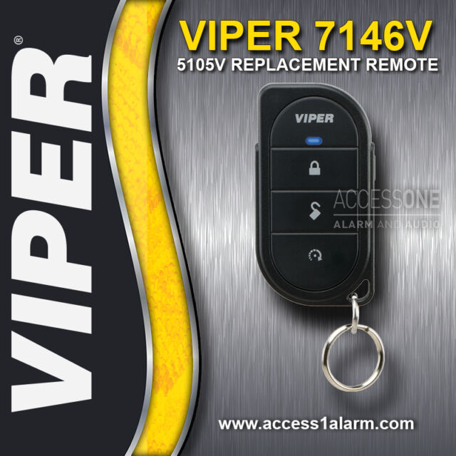 Viper 4 Button Replacement Remote Control 7145V For 3105V Alarm System Key Fob