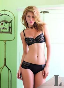 Emanuela-solera-7046-push-up-bra-set-with-matching-panties-Black