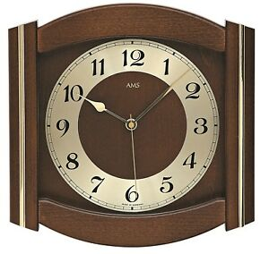 AMS-funk-wanduhr-27cm-noyer-5822-1-Horloge-murale-avec-mouvement-quartzwe