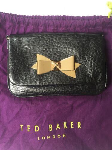 Baker Ted a con chiusura pelle fiocco chiusura a con Vera nera fiocco 6UxqdgrwU