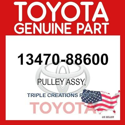 CRANKSHAFT 13470-88600 1347088600 Genuine Toyota PULLEY