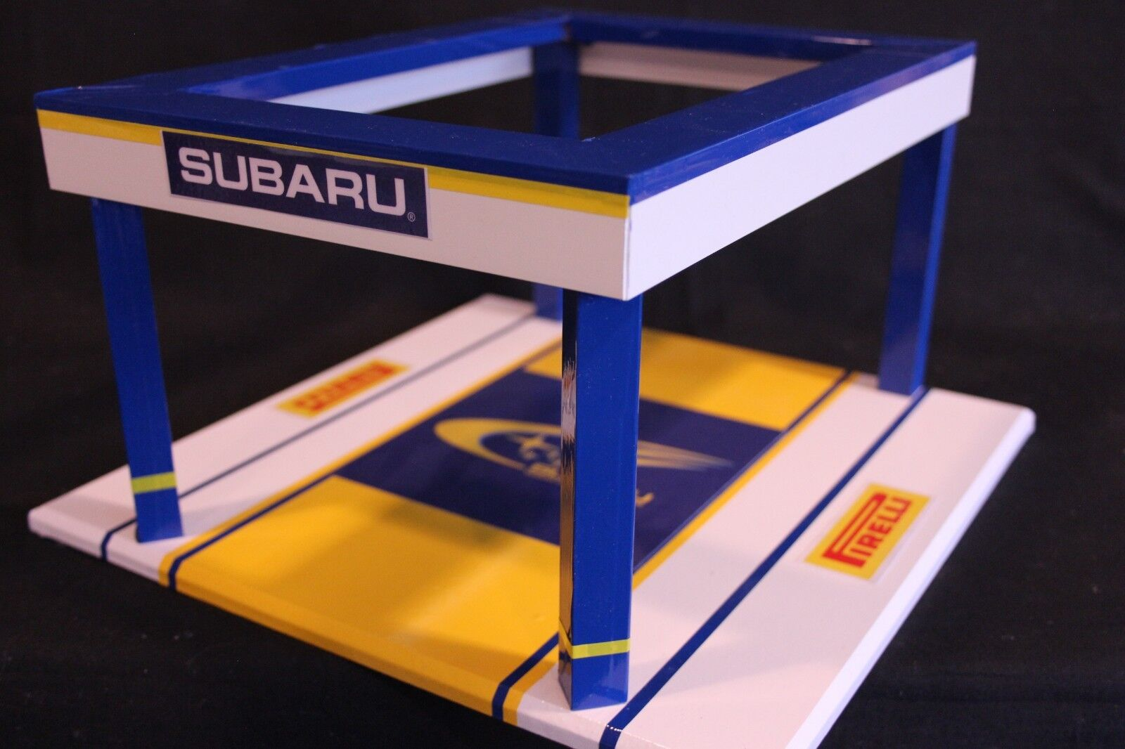 QSP Diorama 1 18 Subaru Rally Team Service Tent (comes without car) type 4