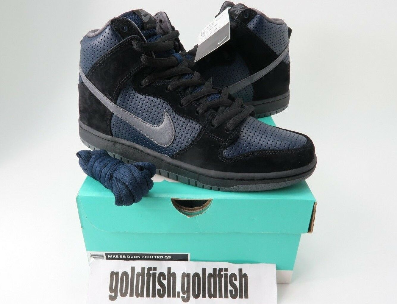 DS NIKE SB DUNK HIGH TRD QS GINO IANNUCCI 881758 001 BLACK