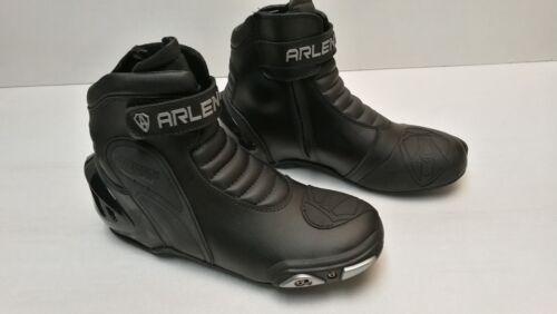 Détails sur Arlenness Chaussure botte basket demi botte moto taille 46 Arlen ness