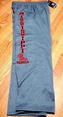 Grey 1243881-025 Smart Under Armour Ole Miss Rebels Men's Jogging Pants Size M Fine Craftsmanship