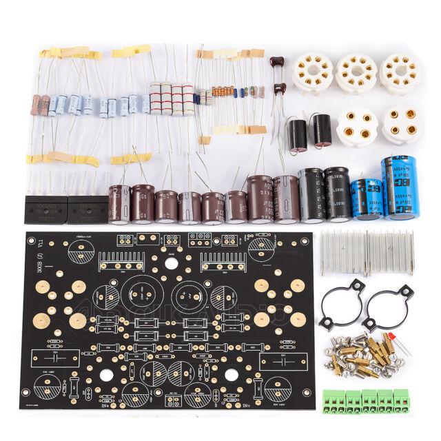 HiFi 300B Vacuum Tube Power Amplifier Board DIY KIT Class A Stereo Audio Amp 16W