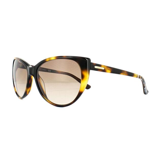 Guess Sunglasses GU7427 52F Dark Havana Brown Gradient