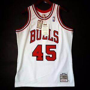 bcb95c2d 100% Authentic Michael Jordan Mitchell Ness 94 95 #45 Bulls Jersey ...