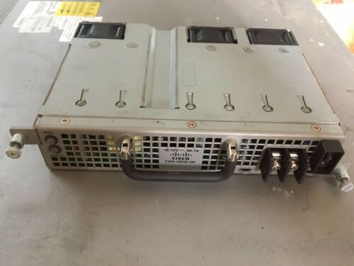 Genuine Cisco PWR-390W-DC ME3600X//ME3800X DC Power Supply Fully tested