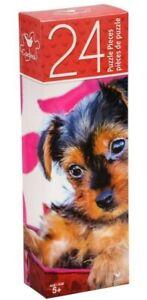 Yorkshire Terrier Puppy Dog PUZZLE 24 piece, Adorable ...