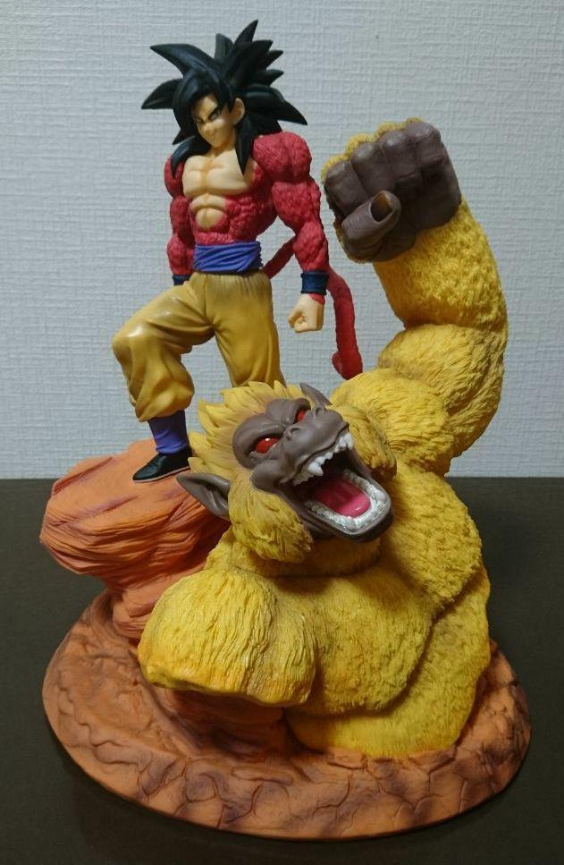 Dragon Ball Z súper Saiyan 4 son Goku Figura De Mono y el gran Anime Comic