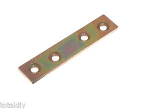 Paquet 12 Plat Réparations Connecteur Jonction Plaque Yzp Choix de Tailles