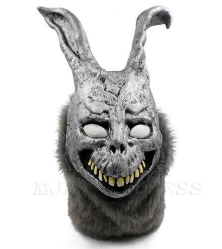 Deluxe Donnie Darko Overhead Latex Mask Frank the Bunny Rabbit Horror Mask
