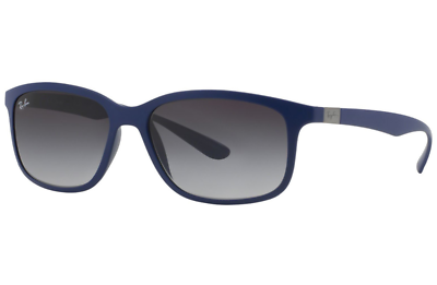 a43e47ad13f Authentic RAY-BAN 4215 - 61618G Sunglasses Blue  Grey Gradient  NEW  57mm