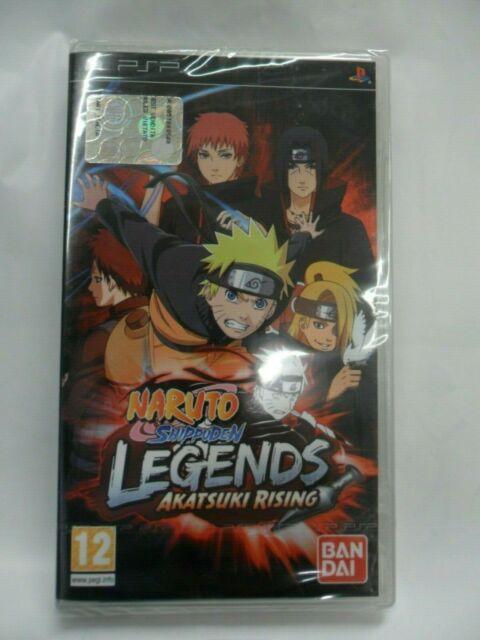 SONY  PSP - Naruto Shippuden Legends:Akatsuki Rising  BANDAI nuovo sigillato