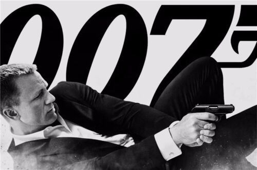 "Spectre 007 Spy Shooting Movie 20/""x13/"" Poster 001 James Bond 24"