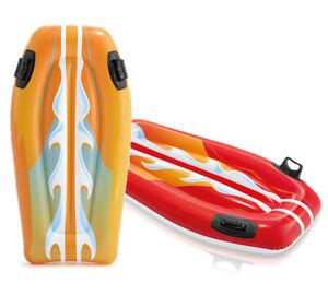 Intex-Surfmatte-Surfer-Luftmatratze-Joy-Rider-Kinder-Badespass-orange-oder-rot