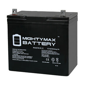 Mighty-Max-12V-55Ah-SLA-Battery-Replacement-for-Power-Sonic-PS-12550