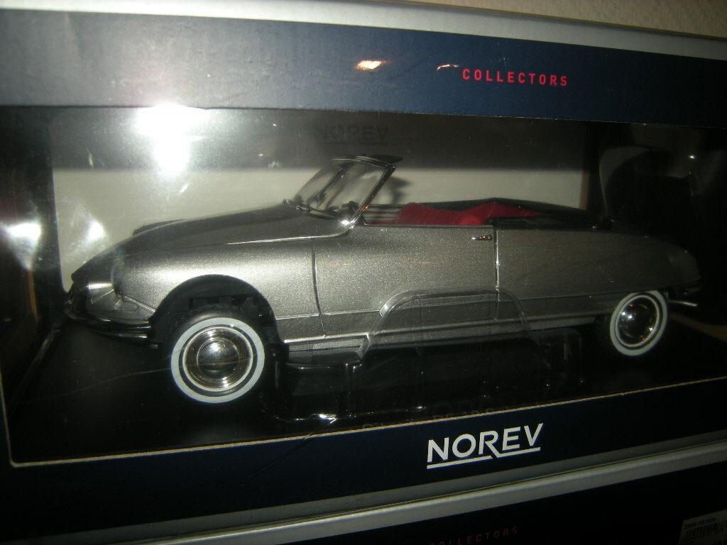 1 18 NOREV CITROEN DS 19 Cabrio 1961 PEARL grigio GRIGIO N. 181598 IN SCATOLA ORIGINALE
