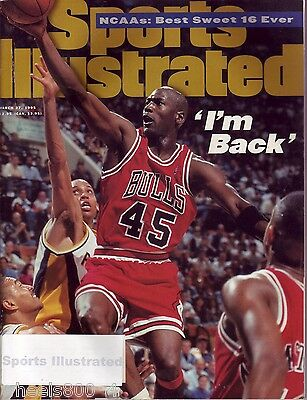 1995 Sports Illustrated Chicago Bulls Michael Jordan Subscription Issue NR/Mint