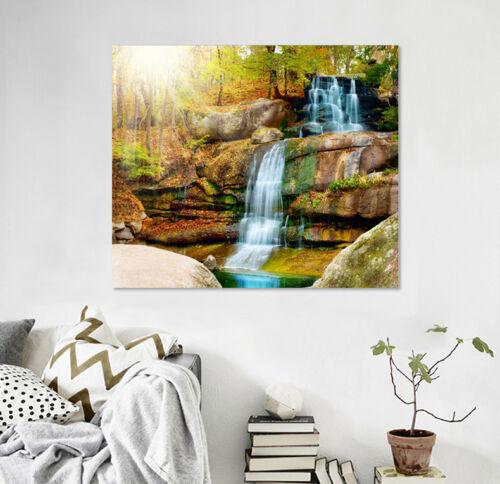 3D Waterfall Scenery 7 Wall Stickers Vinyl Murals Wall Print Decal  Art AJ STORE