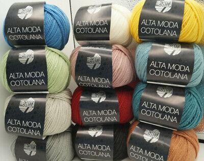 Wolle Kreativ Fb Alta Moda Cotolana Lana Grossa 3 zimtbraun 50 g