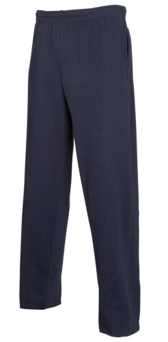 Fruit of the Loom Lightweight Elasticated Waist Sweatpants Casual Jogging Bottom