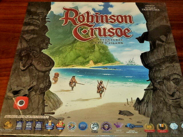 Robinson Crusoe  Adventures on the Cursed Island Portal Games Board Game New