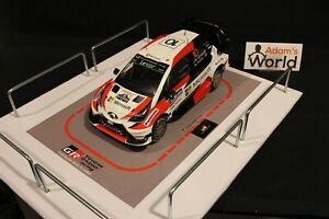 QSP-Diorama-1-18-Toyota-Gazoo-Racing-Rally-Team-Service-for-Toyota-Yaris-WRC
