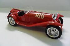 BRUMM 1:43 AUTO DIE CAST ALFA ROMEO 2300 MILLE MIGLIA 1932 #106 ROSSO  ART R078