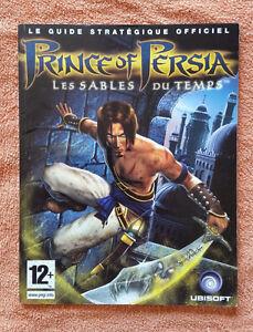 Guide officiel Prince Of Persia PS2 / fr intégral / tbé / envoi rapide