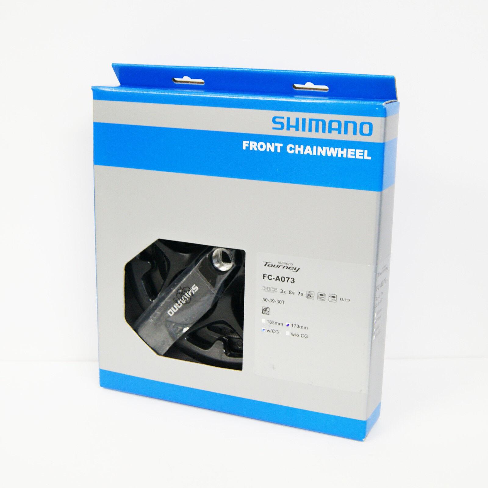 Shimano Tourney FCA073 503930T 170mm Crankset w Chainguard EFCA073C090C