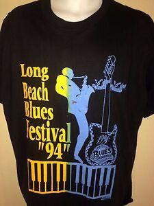 VINTAGE-LONG-BEACH-BLUES-FESTIVAL-BO-DIDDLEY-BUDDY-GUY-1994-XL-T-SHIRT