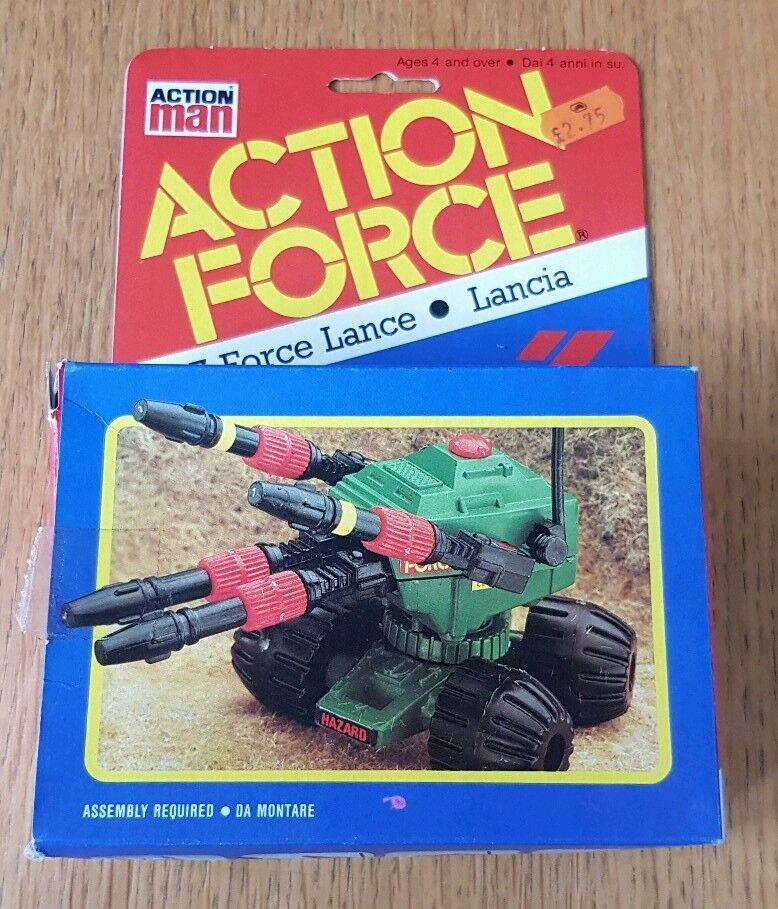 Action Force/Gi Joe Z Force Lance with figure Boxed Euro Palitoy