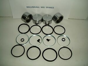 182-810-MG-MIDGET-SPRITE-CALIPER-PISTONS-X-4-REPAIR-KITS-WITH-O-RING-SEALS
