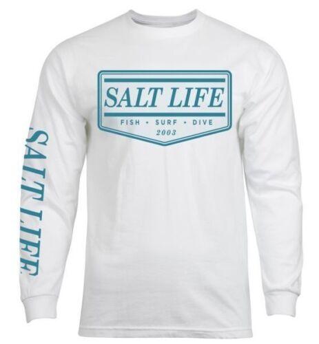 "NWT 2XL /& XL Mens Salt Life /""The Original/"" Long Sleeve Graphic T-Shirt"