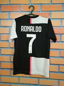 Ronaldo-Juventus-Jersey-2019-Home-Kids-Boys-11-12-y-Shirt-Adidas-DW5453