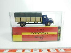 Bg988-0-5-Schuco-Piccolo-1-90-05671-catre-lona-camion-Krupp-Neuw-embalaje-original