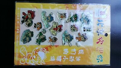 Sports Memorabilia Steady Beijing2008 Olympic New,stickers,official Licensed Merchandise Beijing 2008